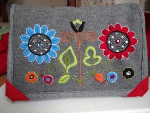 Close up of Fanny's bag